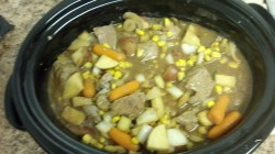 My famous crockpot stew