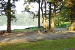 A Georgia Veterans State Park campsite