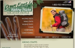 Down East Walking Stick