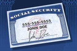 John Doe's card